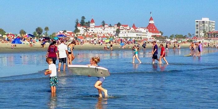 best beach vacation spots -Coronado beach usa