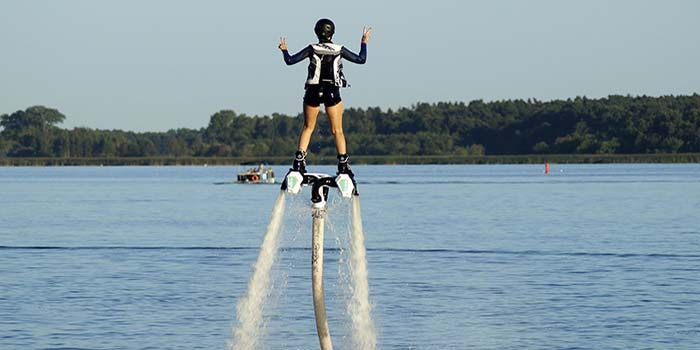 Flyboarding in florida USA