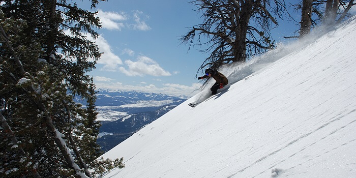 Jackson Hole skill destination USA