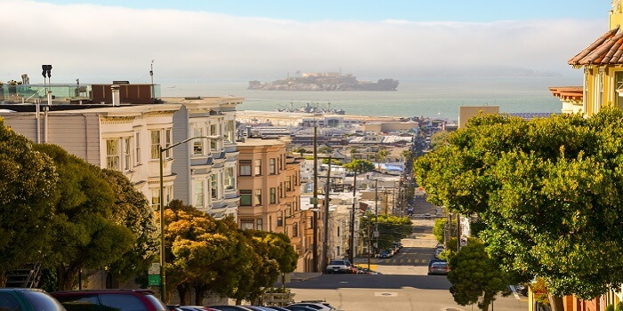 San Francisco - gayest cities in the us