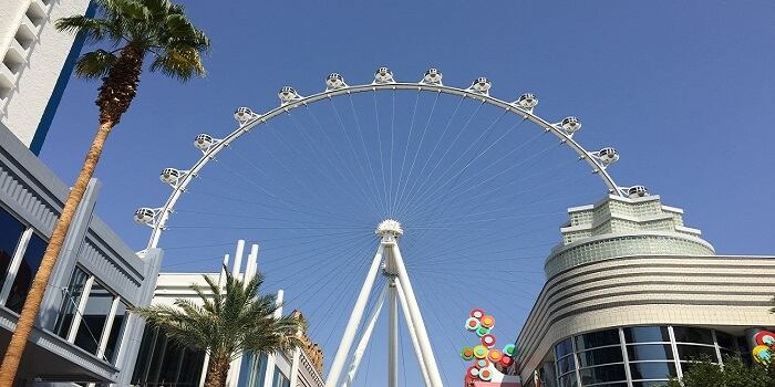 High roller ferry wheel