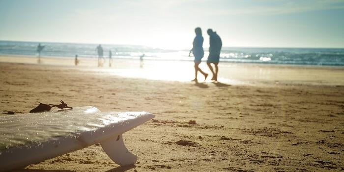 La Jolla Cove beach at San Diego. california