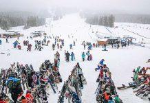 Lake Louise Ski resort Mountain Collective Destinations