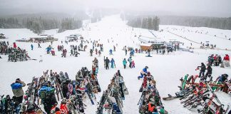 Lake Louise Ski resort Mountain Collective Destinations