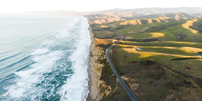 San Gregorio State Beach california
