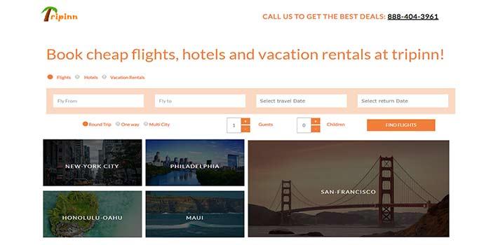 tripinn - airbnb alternative