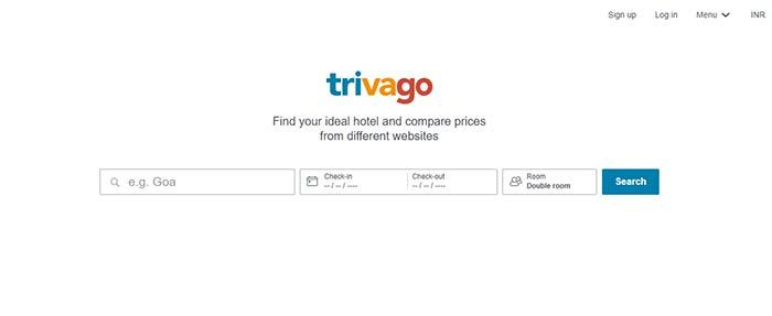 trivago - airbnb alternative