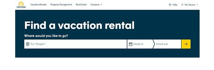 vacasa - airbnb competitors