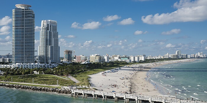 thanksgiving getaways USA Miami Beach, Florida