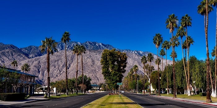 thanksgiving vacation ideas Palm-Springs-California