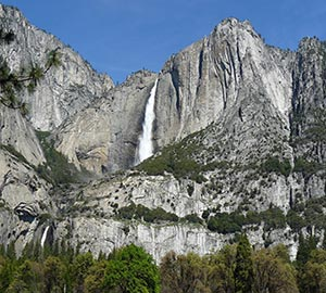 Yosemite National Park Attraction: Yosemite Falls