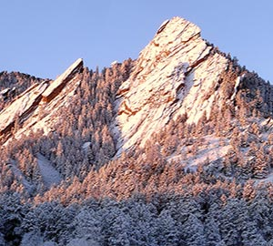 Boulder Attraction: Flatirons