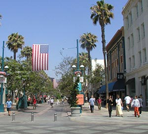 Santa Monica State Beach Attraction: Main Street