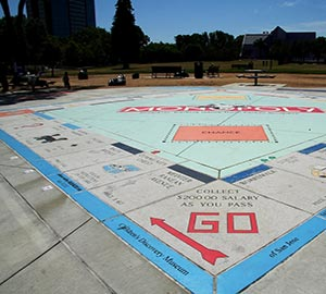 San Jose Attraction: Monopoly in the Park