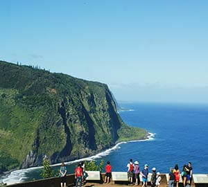 Hawaii - The Big Island Attraction: Waipio Valley and Overlook