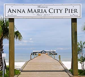 Saint Pete Beach Attraction: Anna Maria City Pier