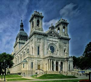 Minneapolis Attraction: Basilica of Saint Mary