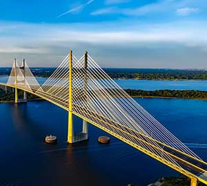 Jacksonville Attraction: Dames Point Bridge