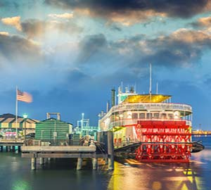 New Orleans Attraction: Steamboat Natchez
