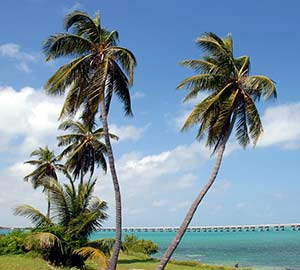 Key West Oceanfront  Vacation Rentals Attraction: Bahia Honda State Park
