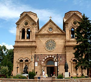 Santa Fe Attraction: Cathedral Basilica of St. Francis of Assisi