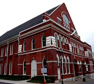 Nashville Attraction: Ryman Auditorium