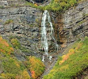 Provo Attraction: Bridal Veil Falls