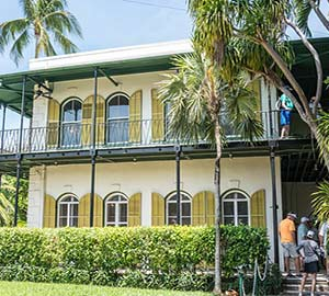 Key West Oceanfront  Vacation Rentals Attraction: Ernest Hemingway Home and Museum