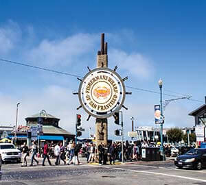 San Francisco Attraction: Fisherman's Wharf