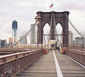 New York City Attraction: Brooklyn Bridge