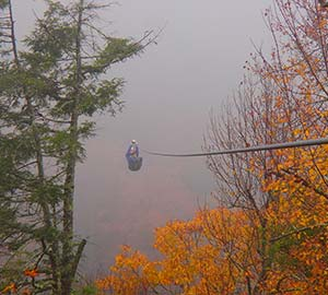 Asheville Attraction: Ziplines