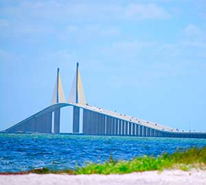 St. Petersburg Attraction: Sunshine Skyway Bridge