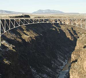 Taos Attraction: The Gorge Bridge