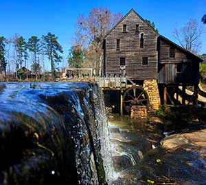 Raleigh Attraction: Historic Yates Mill County Park