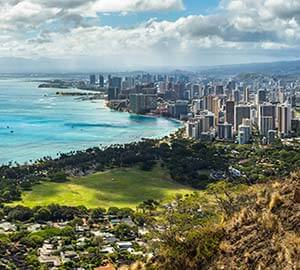 Honolulu Attraction: Diamond Head State Monument