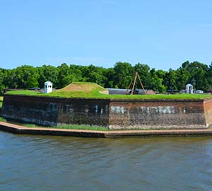 Savannah Attraction: Old Fort Jackson