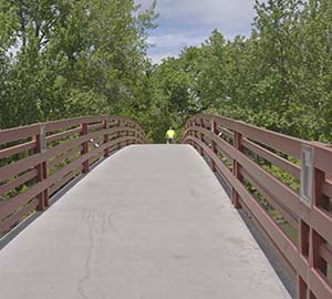 Boise Attraction: Pedestrian bridge