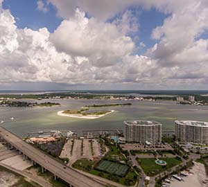 Orange Beach Alabama  Condo Rentals Attraction: Perdido Pass Bridge