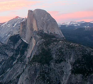 Yosemite National Park Attraction: Glacier Point