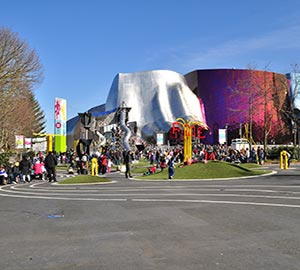 Seattle Attraction: Museum of Pop Culture (MoPOP)