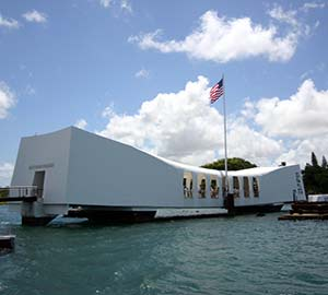 Waikiki Beach Attraction: USS Arizona Memorial