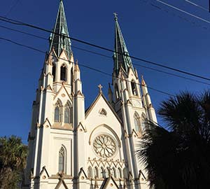 Savannah Attraction: Cathedral of St. John the Baptist