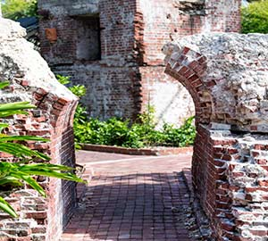 Key West Oceanfront  Vacation Rentals Attraction: Fort East Martello Museum and Gallery
