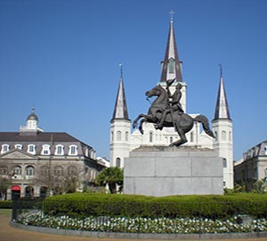 New Orleans Attraction: Jackson Square