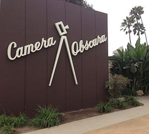 Santa Monica State Beach Attraction: Camera Obscura