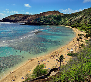 Honolulu Attraction: Hanauma Bay Nature Preserve