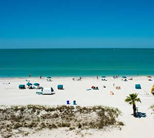 Saint Pete Beach Attraction: Treasure Island Beach