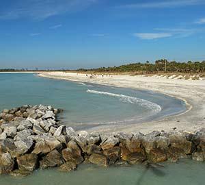 St. Petersburg Attraction: Fort Desoto Beach