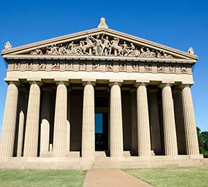 Nashville Attraction: The Nashville Parthenon