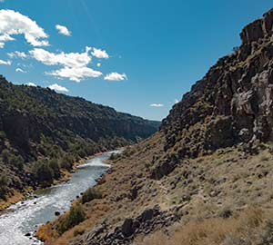 Taos Attraction: Rio Grande River